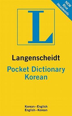 Langenscheidt Pocket Dictionary Korean By Langenscheidt (COR)